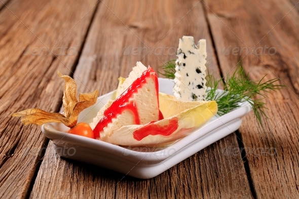 Cheese appetizer - Stock Photo - Images