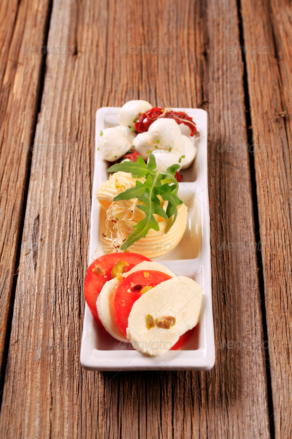 Vegetarian appetizer - Stock Photo - Images