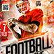Football College Game Flyer - GraphicRiver Item for Sale