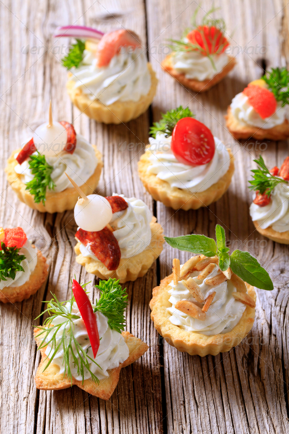 Canapes - Stock Photo - Images
