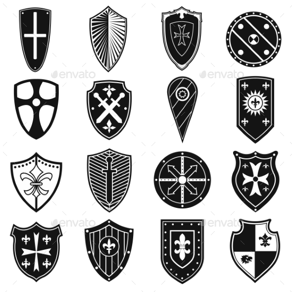 Shields Icons Set - Miscellaneous Icons