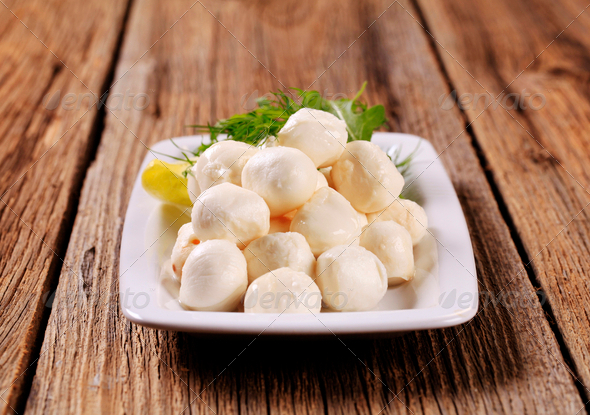 Mozzarella cheese - Stock Photo - Images