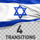 Israel Flag Transitions - VideoHive Item for Sale