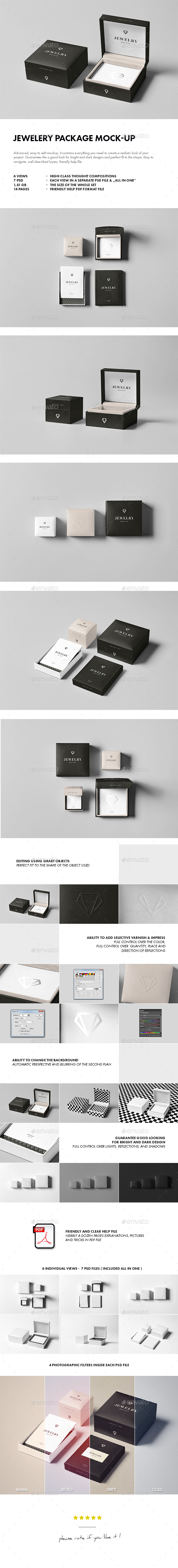 Jewelery Package Mock-up - Miscellaneous Packaging