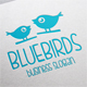Blue Birds Logo - GraphicRiver Item for Sale