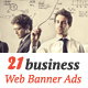 Corporate Web Banner Ads Vol.13 - GraphicRiver Item for Sale