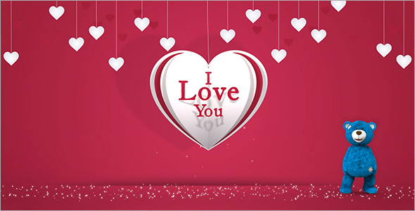 Valentine Heart Gift Card By Pmwa Videohive