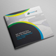 Square Bifold Business Brochure - GraphicRiver Item for Sale