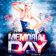 Memorial Day v2 PSD Flyer Template - GraphicRiver Item for Sale