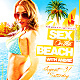 Sex On The Beach v2 Party Flyer Template - GraphicRiver Item for Sale