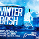 Winter Bash Horizontal Flyer Template - GraphicRiver Item for Sale