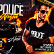 Police Night Party Horizontal Flyer Template  - GraphicRiver Item for Sale