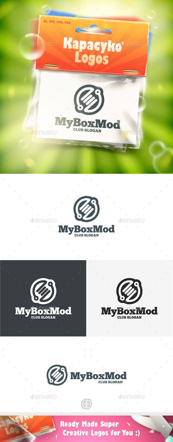 My Box Mod Logo - Vector Abstract