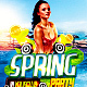 Spring Party Flyer PSD Template - GraphicRiver Item for Sale
