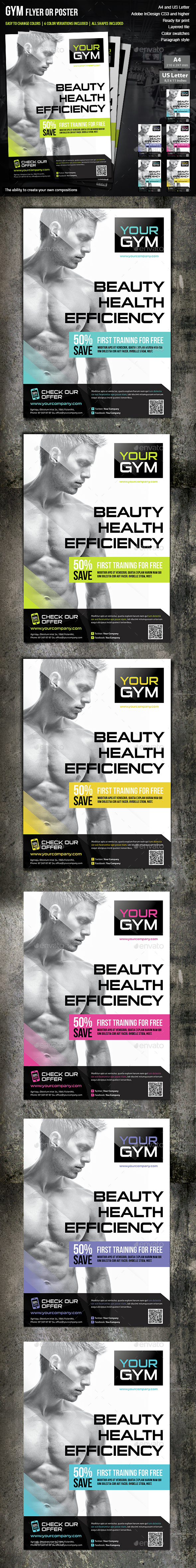 Flyer Gym - Commerce Flyers