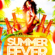 Summer Fever Party Flyer Template - GraphicRiver Item for Sale