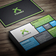 Flat Corporate & Personal Business Card - GraphicRiver Item for Sale