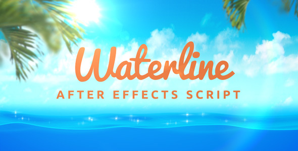 Waterline - After Effects Script (Videohive)