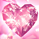 Diamond Hearts Background - VideoHive Item for Sale