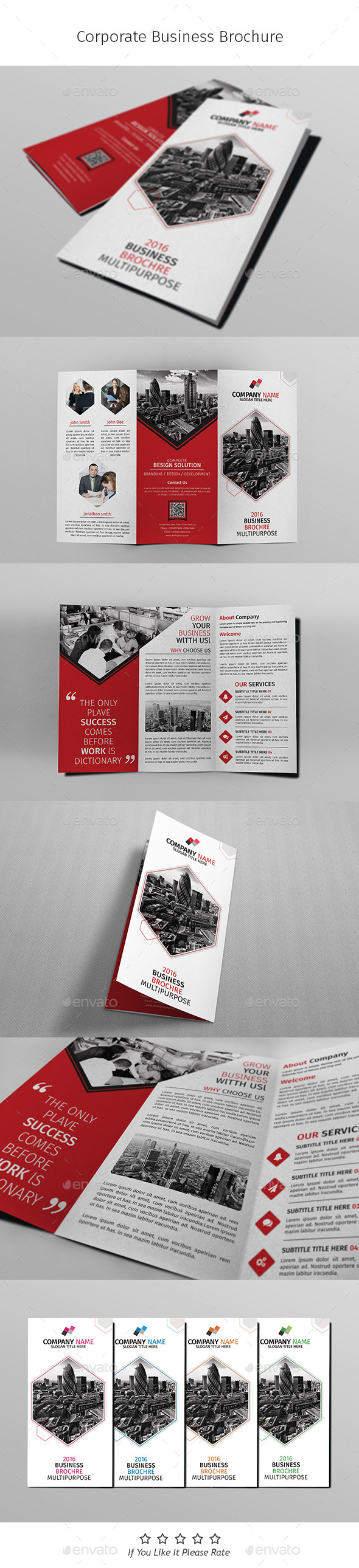 A4 Corporate Business Flyer Template Vol 05 - Corporate Brochures