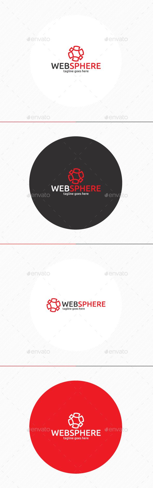 Web Sphere Logo - Symbols Logo Templates