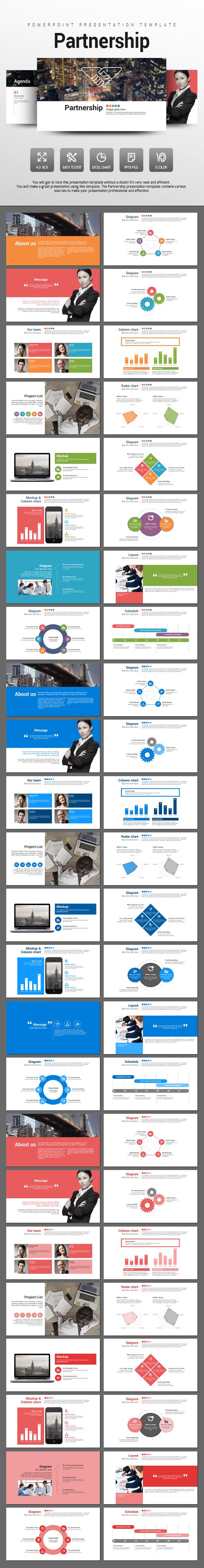 Partnership - PowerPoint Templates Presentation Templates