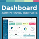 Dashboard Admin Panel Template - GraphicRiver Item for Sale