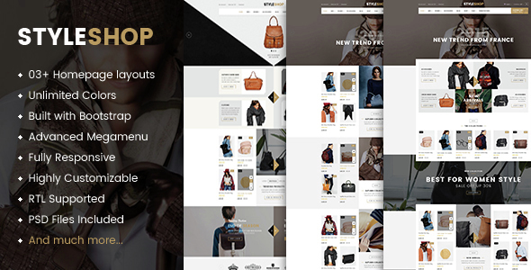 Styleshop – Premium Responsive Prestashop Theme