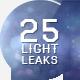 25 Light Leaks - VideoHive Item for Sale
