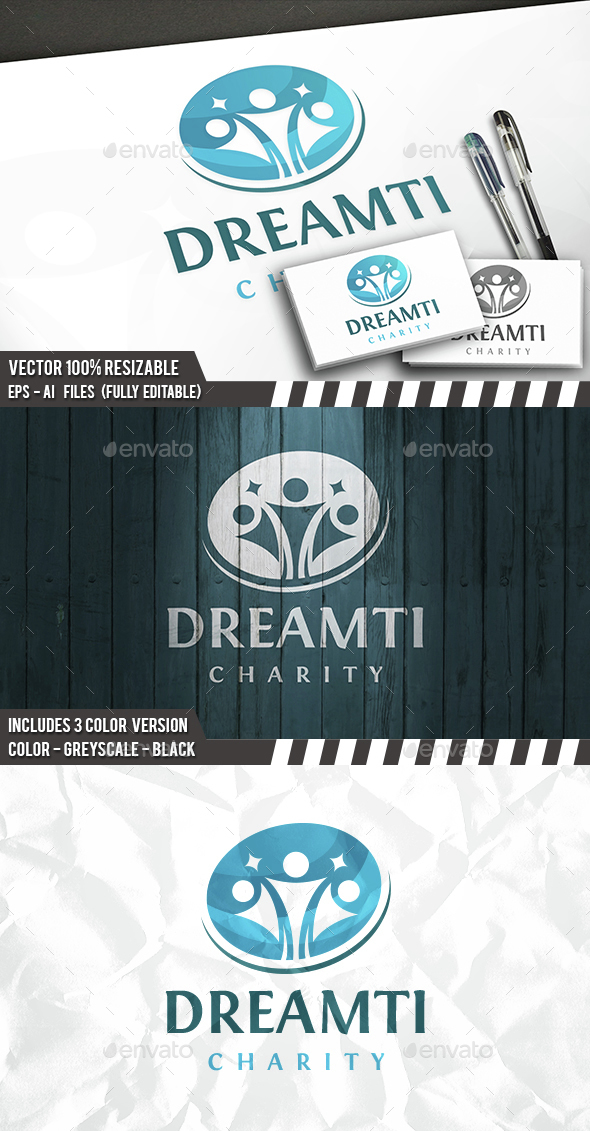 Kids Dream Logo - Humans Logo Templates