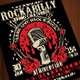Rockabilly Music Show Poster Flyer