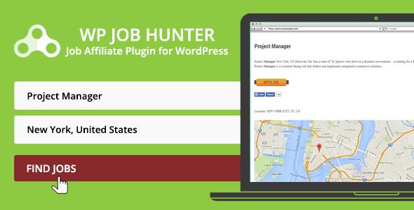 WP Job Hunter - WordPress Jobs Affiliate Plugin by pantherius ...