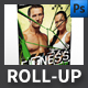 Fitness Gym Roll-up Template - GraphicRiver Item for Sale