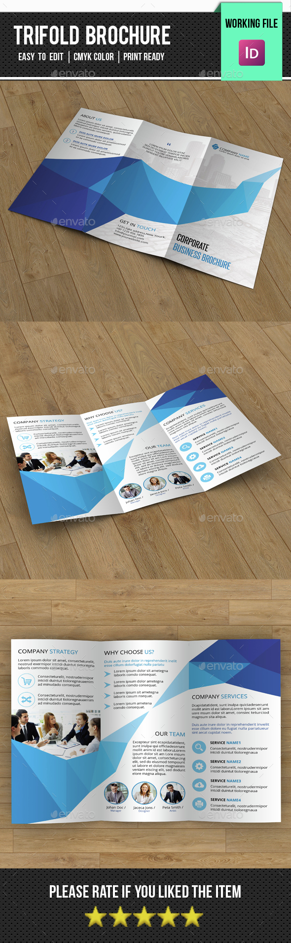 Business Trifold Brochure-V275 - Corporate Brochures