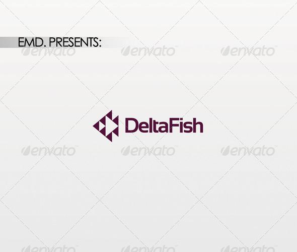 Delta Fish Logo - Symbols Logo Templates