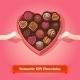 Valentine's Day, Birthday Chocolates In Box - GraphicRiver Item for Sale