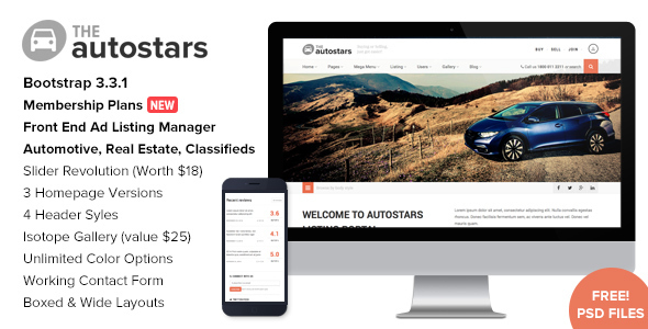 28+ Best Car Rental WordPress Themes [sigma_current_year] 19