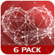 Plexus Heart - 6 Pack - VideoHive Item for Sale
