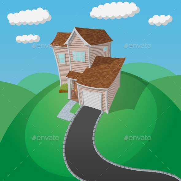 House on a Green Hill - Miscellaneous Vectors