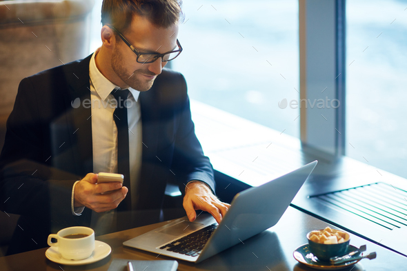 Busy manager - Stock Photo - Images