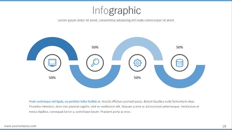 progress powerpoint templatepresentakit | graphicriver, Modern powerpoint