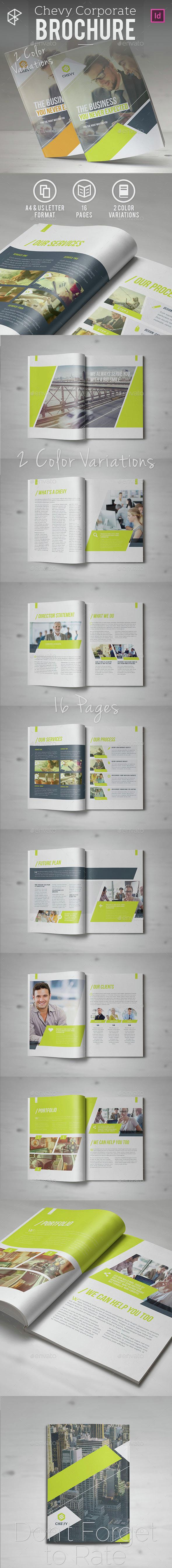 Chevy Corporate Brochure - Corporate Brochures