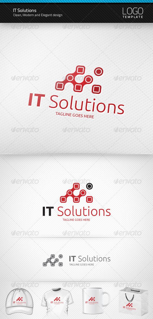 IT Solutions Logo - Symbols Logo Templates