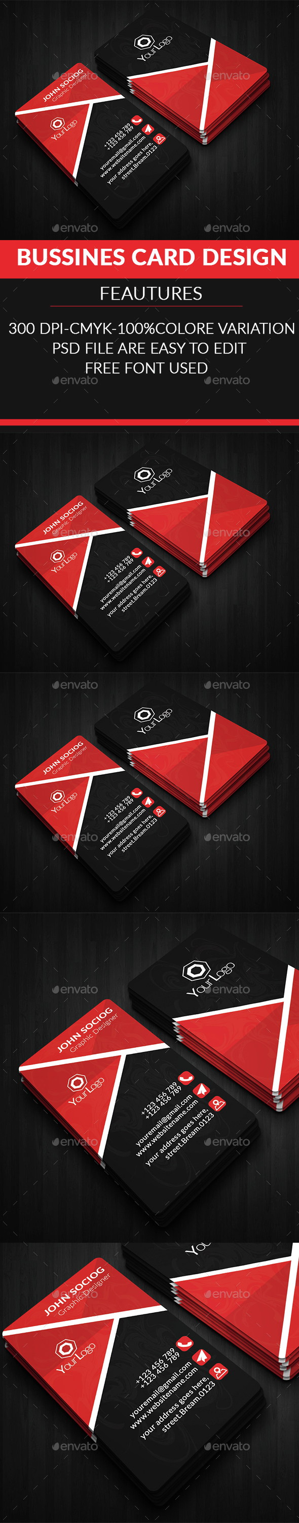New Creative Business Card  - Creative Business Cards
