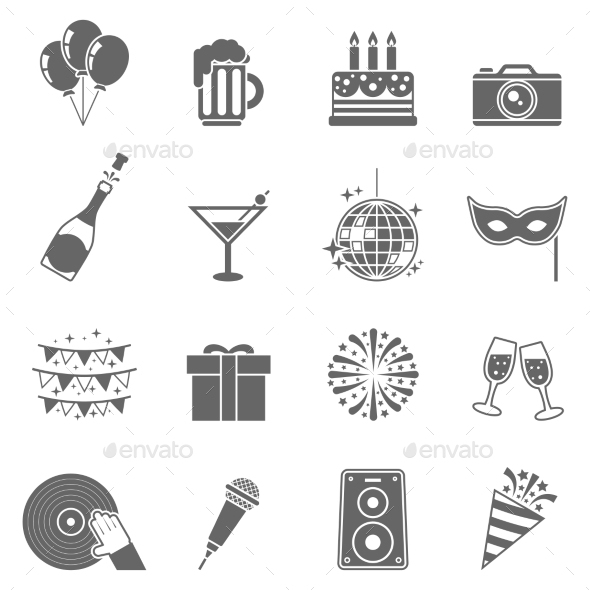 Celebration Icons Set - Icons