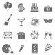 Celebration Icons Set