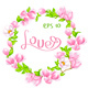 Watercolor Pink Magnolia  - GraphicRiver Item for Sale