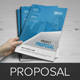 Project Proposal InDesign Template v3  - GraphicRiver Item for Sale