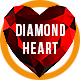 Diamond Heart Logo Sting - VideoHive Item for Sale