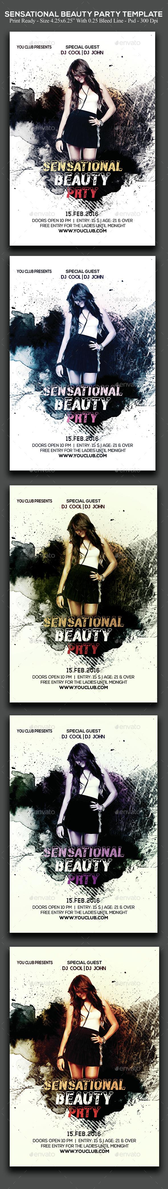 Sensational Beauty Party - Clubs & Parties Events